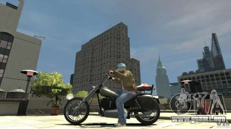 Zombie Bike Paintjob para GTA 4 left