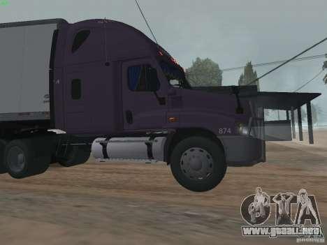 Freightliner Cascadia para GTA San Andreas left