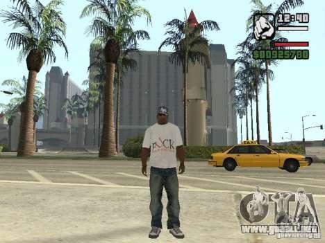 ¡ T-shirt para GTA San Andreas