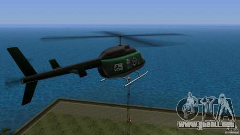 FBI Maverick para GTA Vice City left