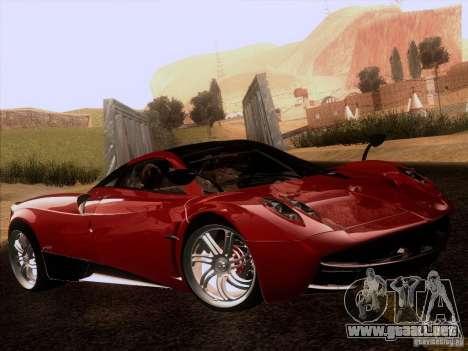 Pagani Huayra 2012 para la visión correcta GTA San Andreas