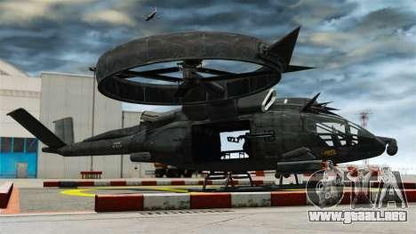 Helicóptero de transporte SA-2 Samson para GTA 4 left