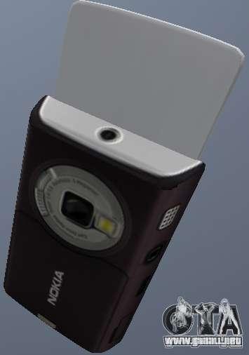 Nokia N95 Mobile para GTA San Andreas segunda pantalla