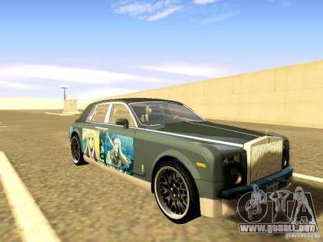 Rolls-Royce Phantom V16 para GTA San Andreas interior