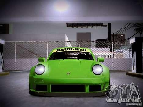 Porsche 911 Turbo RWB Pandora One para vista lateral GTA San Andreas