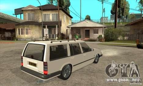 Volvo 945 Wentworth R para la visión correcta GTA San Andreas