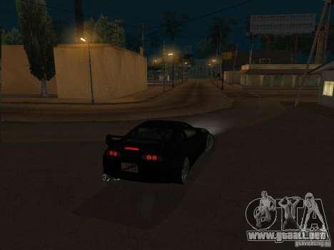 Toyota Supra MKIV para GTA San Andreas left