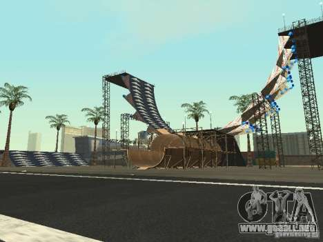 Drift track and stund map para GTA San Andreas