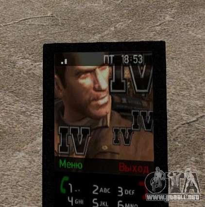 Nuevos temas para tu teléfono para GTA 4 décima de pantalla