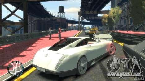 Maybach Exelero para GTA 4 Vista posterior izquierda