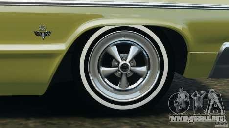 Chevrolet Impala SS 1964 para GTA 4 interior