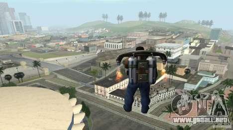 Overdose Effects v1.5 para GTA San Andreas quinta pantalla