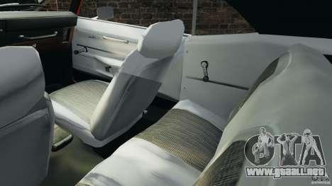 Chevrolet Camaro SS 350 1969 para GTA 4 vista interior