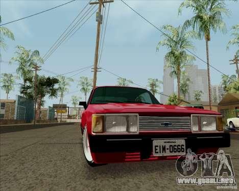 Chevrolet Opala Diplomata 1986 para GTA San Andreas left