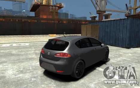 Seat Leon Cupra v.2 para GTA 4 visión correcta