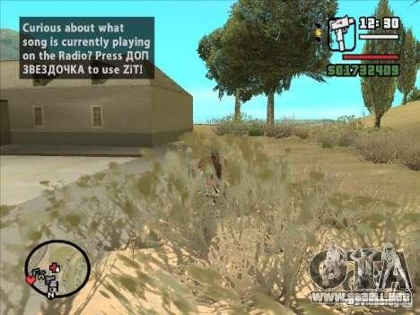 ZiT para GTA San Andreas