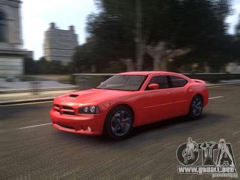 Dodge Charger SRT8 2006 para GTA 4 vista hacia atrás