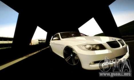 BMW 330 E90 para visión interna GTA San Andreas