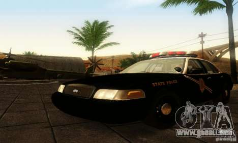 Ford Crown Victoria New Mexico Police para GTA San Andreas