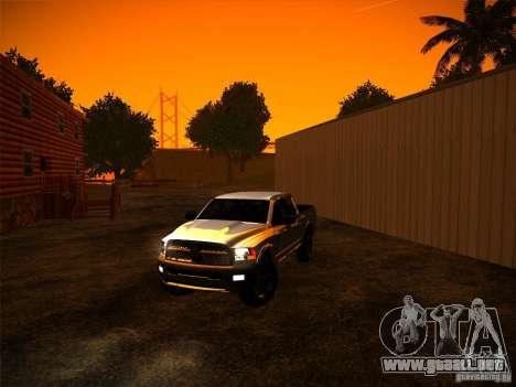 Dodge Ram Heavy Duty 2500 para la visión correcta GTA San Andreas