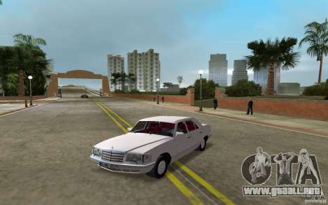 Mercedes-Benz W126 500SE para GTA Vice City vista lateral izquierdo