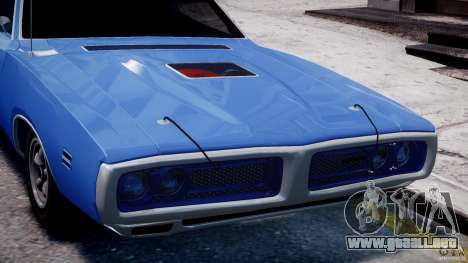Dodge Charger RT 1971 v1.0 para GTA 4 interior
