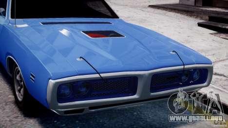 Dodge Charger RT 1971 v1.0 para GTA 4 interior