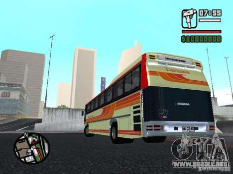 MARCOPOLO III SCANIA 112 para visión interna GTA San Andreas