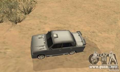 VAZ 2105 noctívaga para visión interna GTA San Andreas
