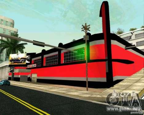 Taller de OVERHAULIN para GTA San Andreas segunda pantalla