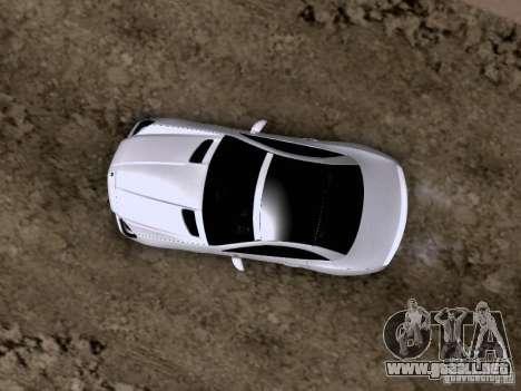 Mercedes-Benz SLK55 AMG 2012 para vista inferior GTA San Andreas