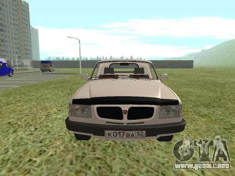 GAS Trofim 17310 para GTA San Andreas vista posterior izquierda