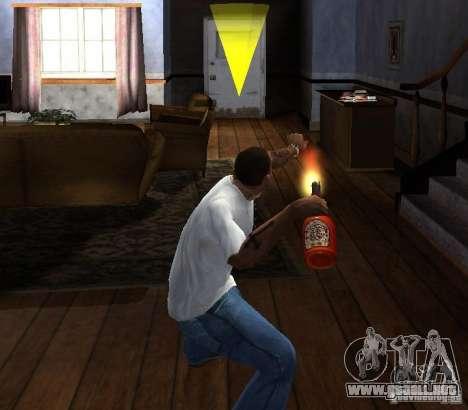 Cóctel Molotov para GTA San Andreas tercera pantalla