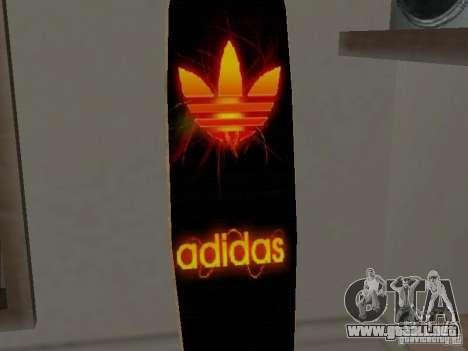 Surf nuevo en la casa de CJ para GTA San Andreas sucesivamente de pantalla