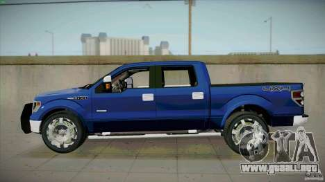 Ford Lobo Lariat Ecoboost 2013 para GTA San Andreas left