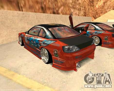 Nissan Silvia S15 Ms Sports para GTA San Andreas left