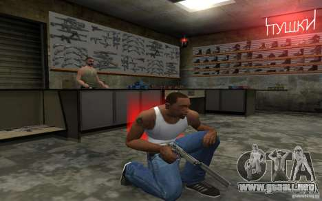 Barreta M9 and Barreta M9 Silenced para GTA San Andreas séptima pantalla