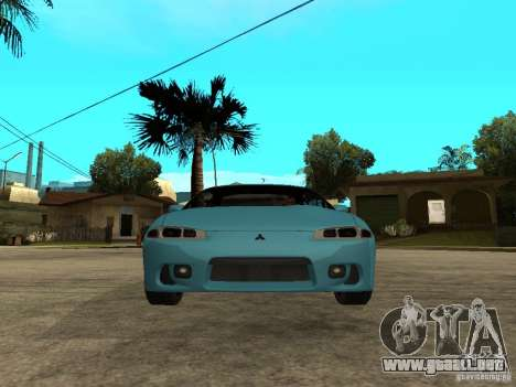 Mitsubishi Eclipse 1998 Need For Speed Carbon para la visión correcta GTA San Andreas
