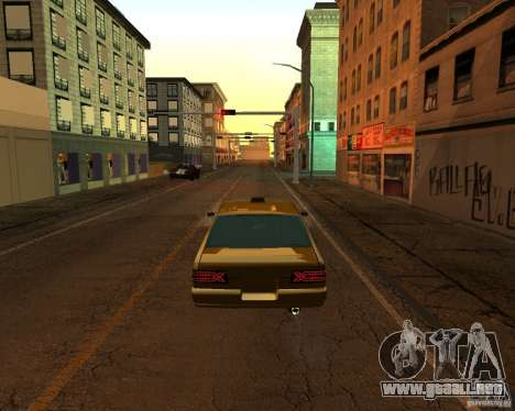 Azik Taxi para GTA San Andreas left