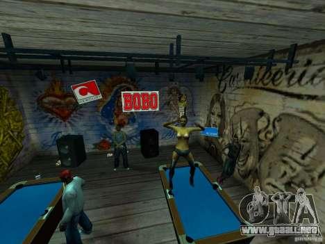 Mod Beber Cerveja V2 para GTA San Andreas novena de pantalla