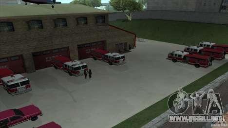 El fuego animado en el SF v3.0 Final para GTA San Andreas quinta pantalla