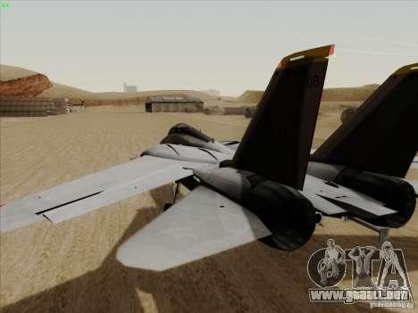 F-14 Tomcat Warwolf para la visión correcta GTA San Andreas