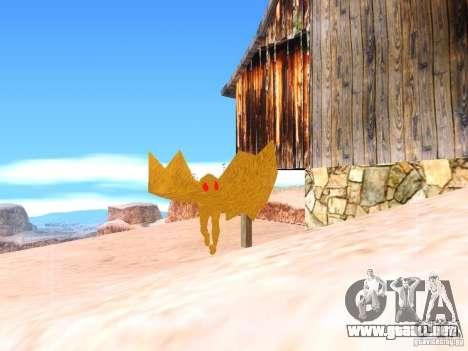 The Mothman para GTA San Andreas segunda pantalla