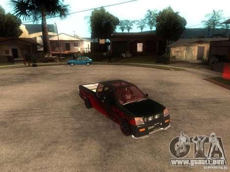 Isuzu D-Max para la visión correcta GTA San Andreas