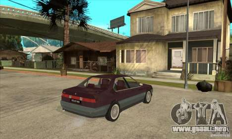 Alfa Romeo 164 3.0 V6 1987 para la visión correcta GTA San Andreas