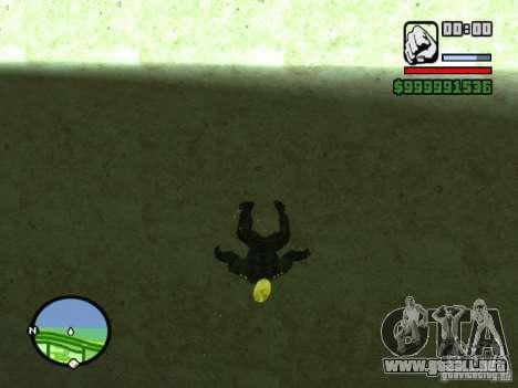 Ghost Ryder Skin para GTA San Andreas tercera pantalla