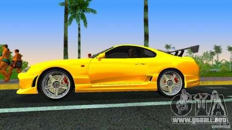 Toyota Supra JZA80 C-West para GTA Vice City visión correcta