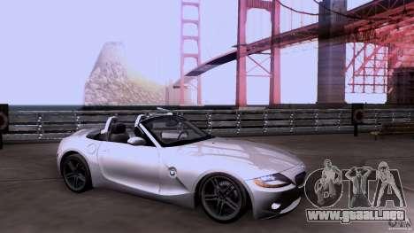 BMW Z4 V10 para GTA San Andreas