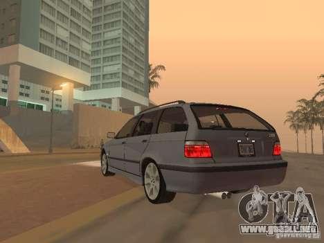 BMW 318 Touring para GTA San Andreas vista hacia atrás