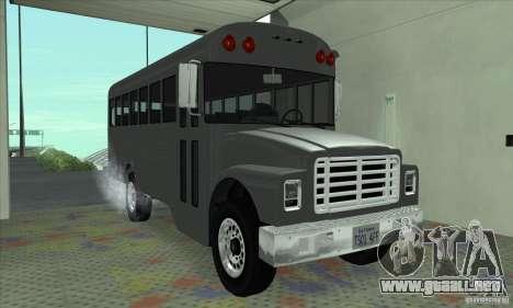 Civil Bus para GTA San Andreas left